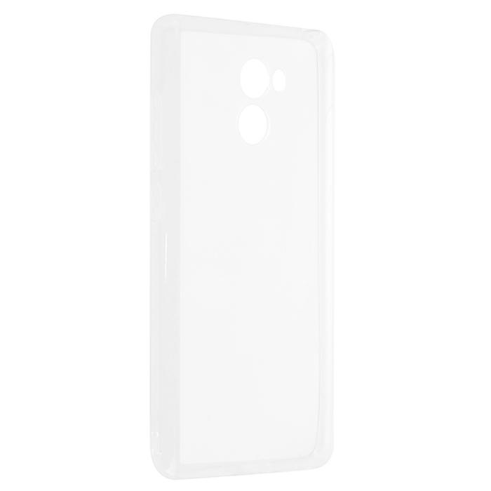 Чехол Gecko для Xiaomi Redmi 4X, Силиконовая накладка, прозрачно-глянцевая, белая