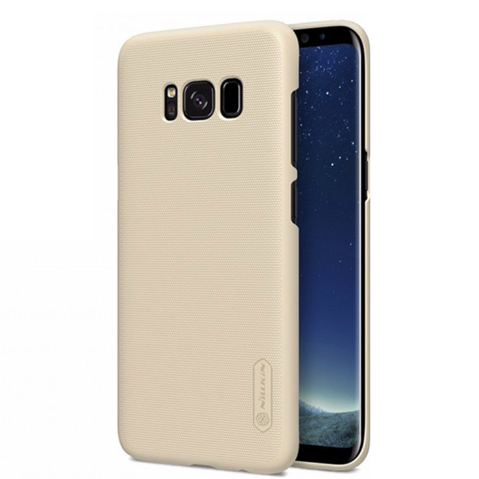 Чехол Nillkin Super Frosted Shield для Samsung Galaxy S8+ SM-G955, золотистый