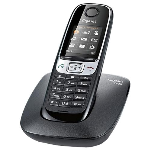 Телефон Dect Siemens C620 черный