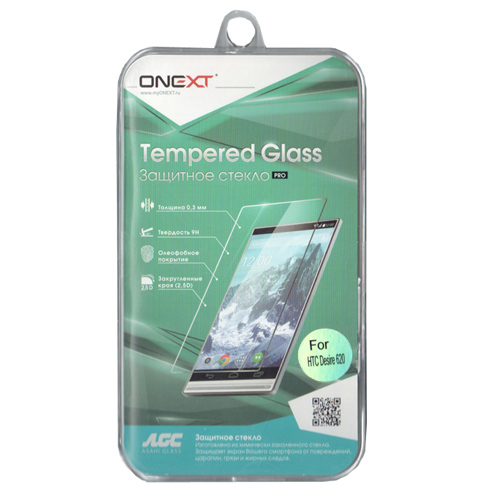 Защитное стекло Onext для HTC Desire 620/620G