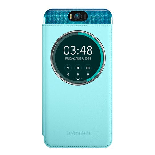 Чехол Asus MyView Cover Deluxe для Asus ZenFone Selfie ZD551KL голубой