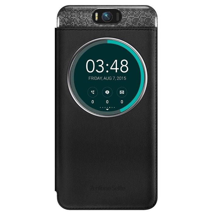 Чехол Asus MyView Cover Deluxe для Asus ZenFone Selfie ZD551KL черный