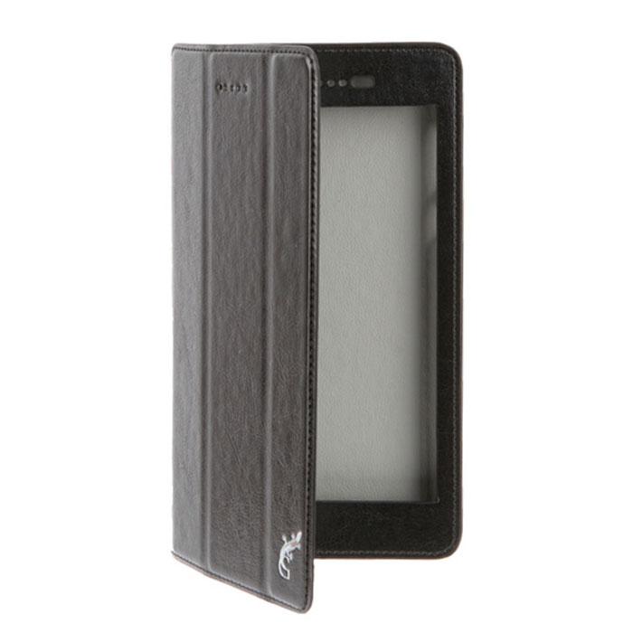 Чехол для Lenovo Tab 3 TB3-730X, G-case Executive, эко кожа, черный