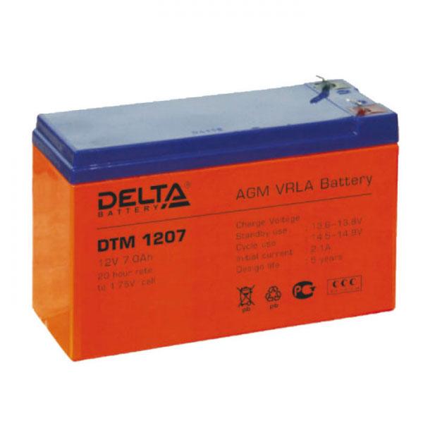 Батарея Delta DTM 1207 (12V 7Ah)