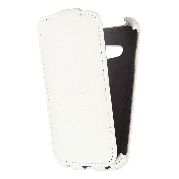 Чехол Gecko Flip для Samsung G313H\G318H Galaxy Ace 4 Lite\ Galaxy Ace 4 Lite LTE \ Ace Neo, белый
