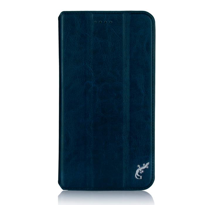 Чехол для Lenovo Tab 3 Plus TB3-7703X/7703F, G-case Executive, эко кожа, темно-синий