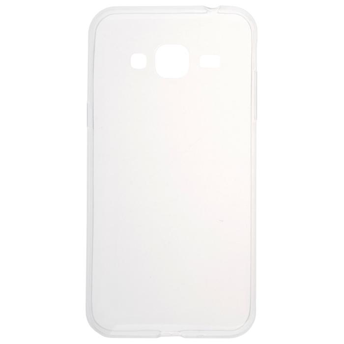 Чехол skinBOX 4People Slim Silicone для Samsung Galaxy J3 (2016) SM-J320F, прозрачный