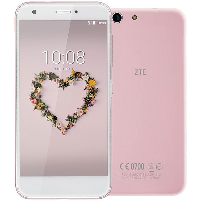 Смартфон ZTE Blade Z10 Pink