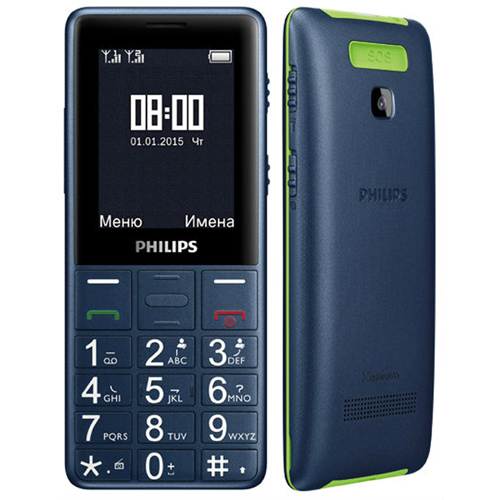 Сотовый телефон Philips E311, синий