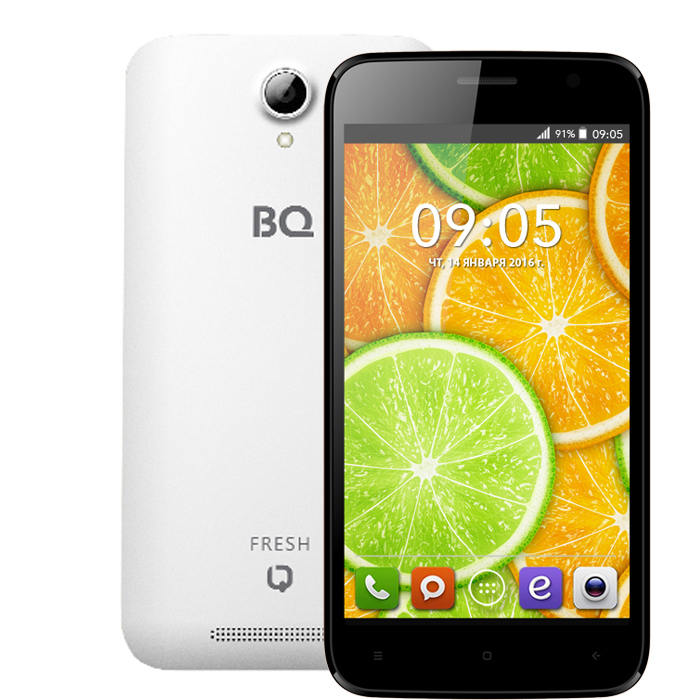 Смартфон BQ Mobile BQS-5030 Fresh White