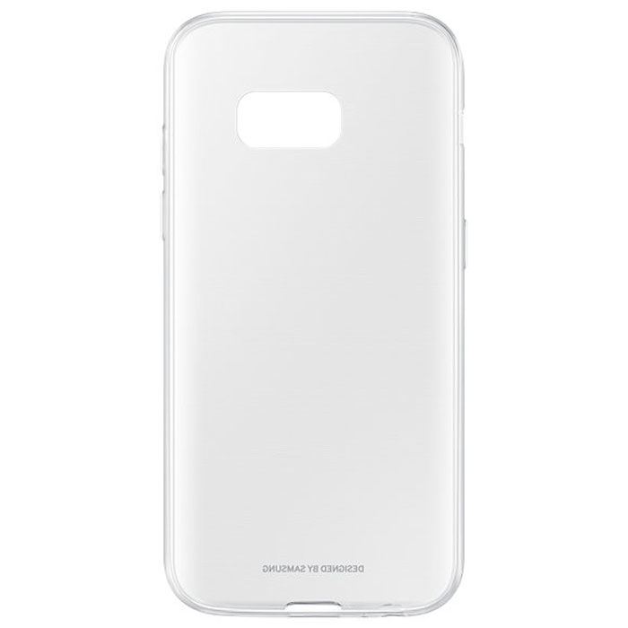 Чехол Samsung Clear Cover для Galaxy A3 (2017) SM-A320F, прозрачный