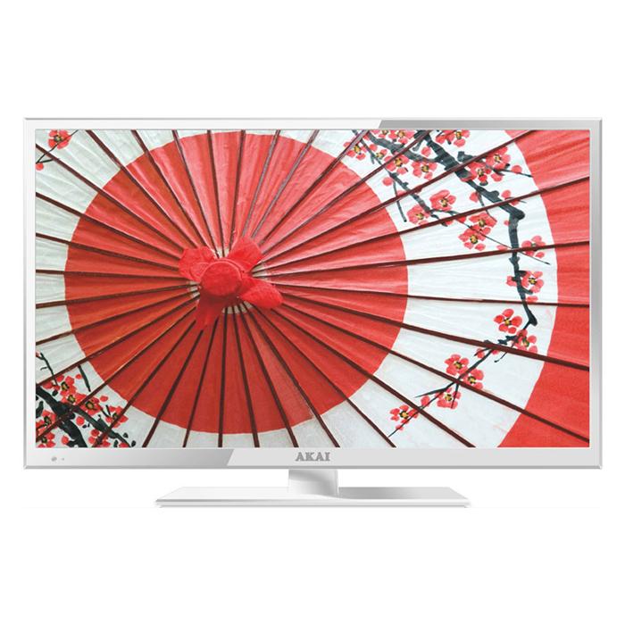 Телевизор ЖК 24″ Akai LEA-24B53W белый