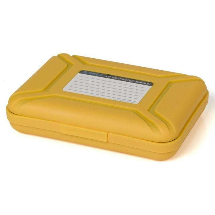 Чехол Orico PHB-35 для жесткого диска 3.5″ оранжевый