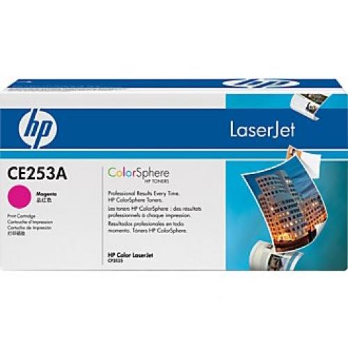 Картридж HP CE253A Magenta