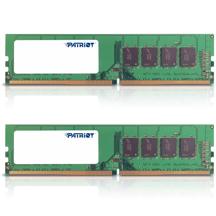 Модуль памяти DDR4 16Gb (2х8Gb) PC-17000 2133MHz Patriot ( PSD416G2133KH )