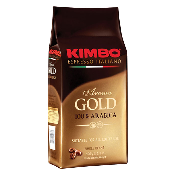 Кофе в зёрнах Kimbo Aroma Gold 100% Arabica 500 г