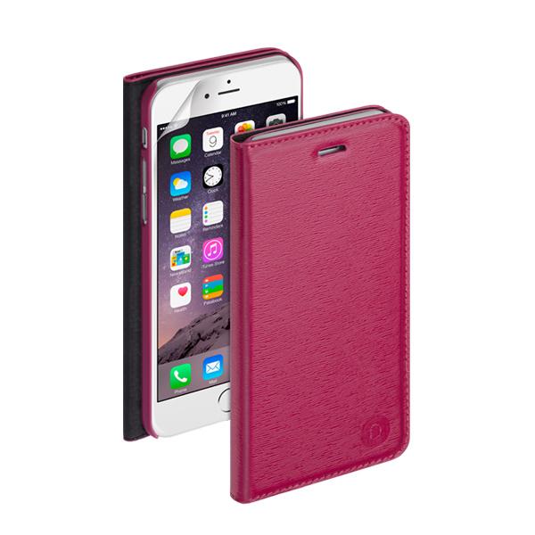Чехол Deppa Wallet Cover PU с пленкой для iPhone 6 Plus/ iPhone 6s Plus, фуксия