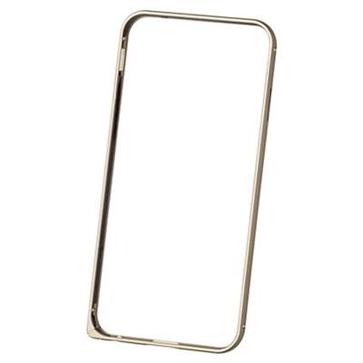 Чехол Deppa Alum Bumper с пленкой для iPhone 6 / iPhone 6s, золотистый