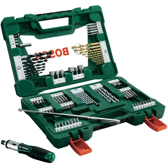 Набор принадлежностей Bosch V-Line 91 2607017195