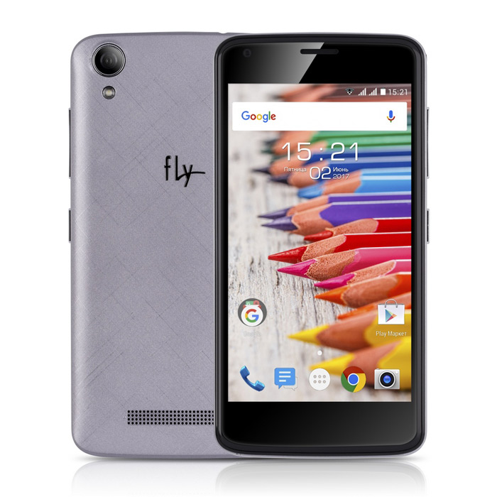 Смартфон Fly FS457 Nimbus 15 Grey