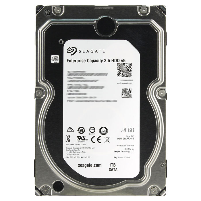 Жесткий диск 3.5″ SATA3 1.0Тб Seagate 128Mb 7200rpm ( ST1000NM0055 ) OEM