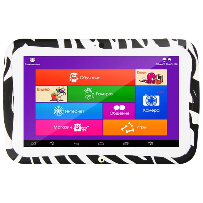Планшетный компьютер 7″ детский TurboPad MonsterPad 1,2GHz/1Gb/8Gb/7″ IPS 1024*600/WIFI/Android 5.1/белый