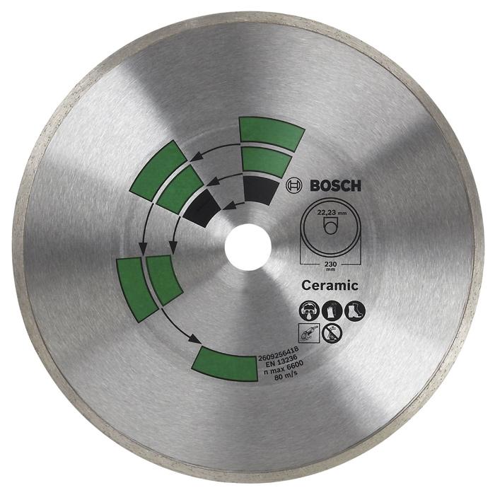 Алмазный диск по керамике Bosch DIY 125мм 2609256417