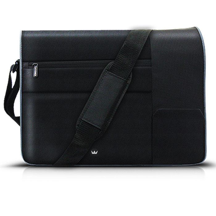 Сумка для ноутбука 17″ Crown CMB-568, нейлоновая, черная