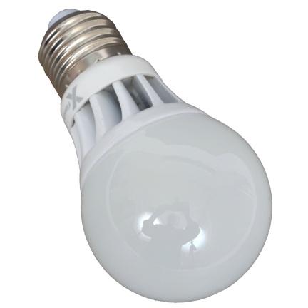 Светодиодная LED лампа X-flash Globe A55 E27 4W 220V желтый свет