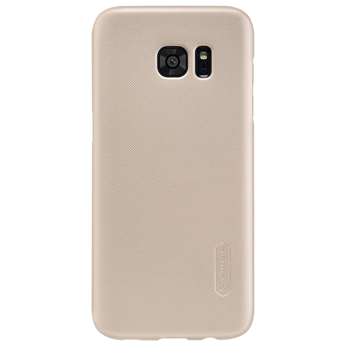 Чехол Nillkin Super Frosted Shield Case для Samsung G935F Galaxy S7 edge, золотистый