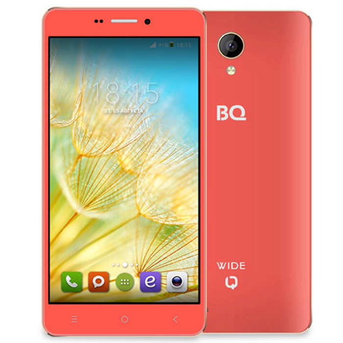 Смартфон BQ Mobile BQS-5515 Wide Strawberry Red