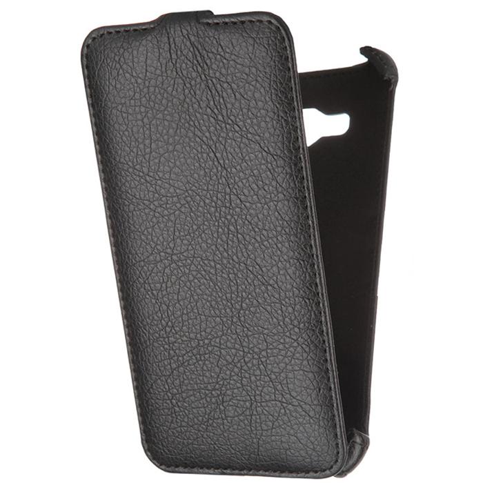 Чехол Gecko Flip case для Galaxy J7 (2016) SM-J710FN, черный