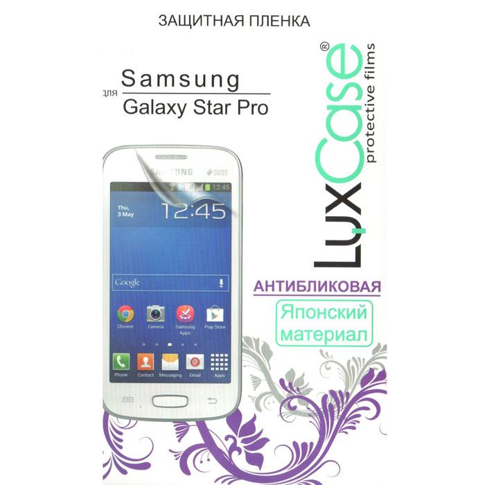 Защитная плёнка для Samsung Galaxy Star Plus S7262/S7260 LuxCase Антибликовая