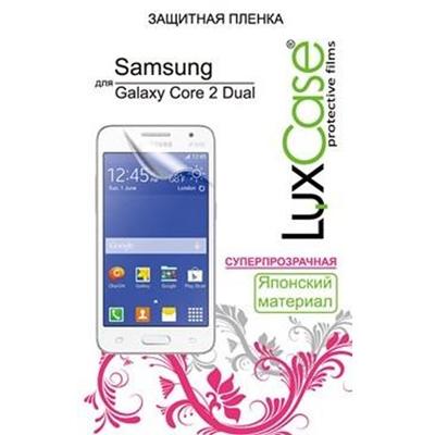 Защитная плёнка LuxCase для Samsung G355H Galaxy Core 2 Duos, суперпрозрачная
