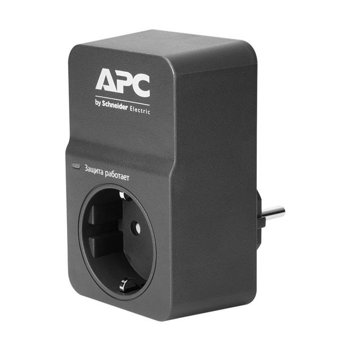 Сетевой фильтр APC by Schneider Electric PM1WB-RS Black 1розетка