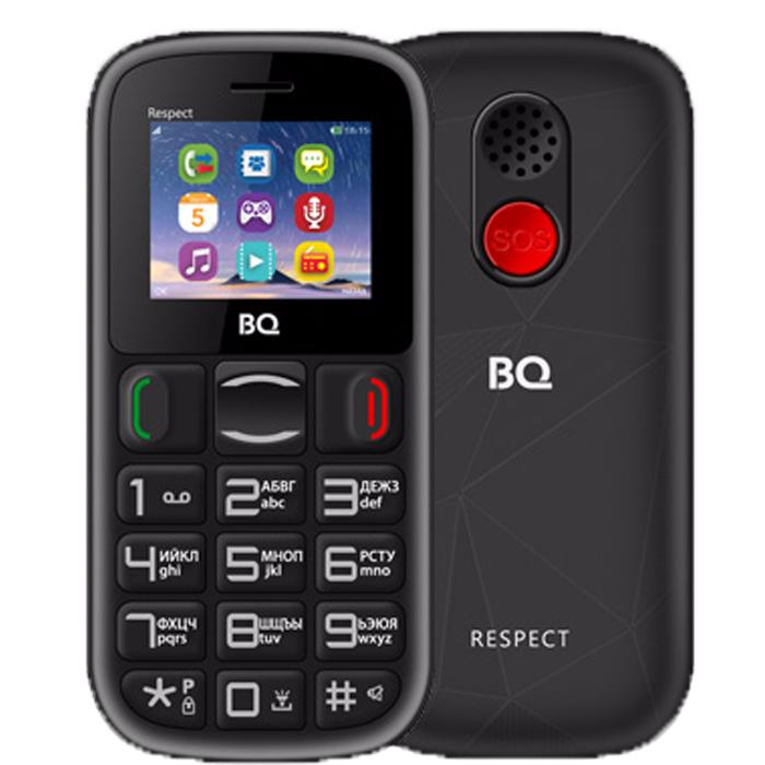 Сотовый телефон BQ Mobile BQ-1800 Respect Black