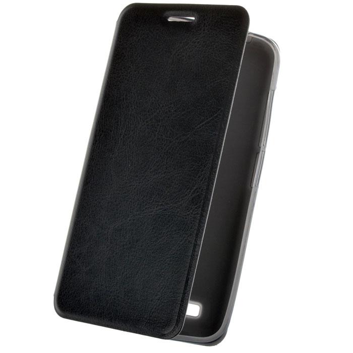 Чехол SkinBox Lux для HTC One A9, черный