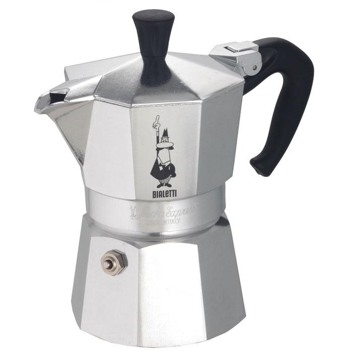 Гейзерная кофеварка Bialetti Moka Express 4 порции 1164
