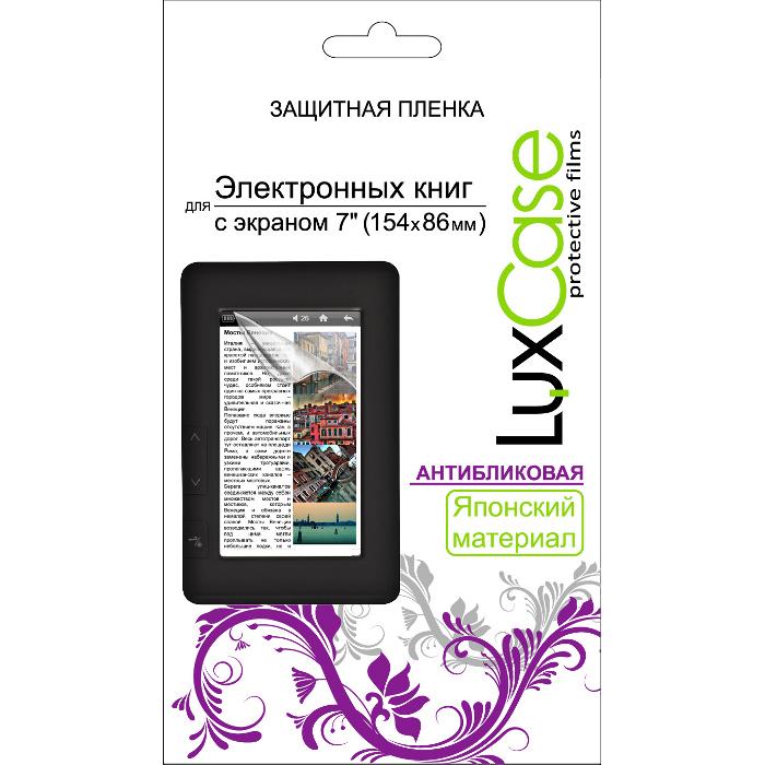 Защитная плёнка для электронных книг 7» (154×86 мм) LuxCase Антибликовая