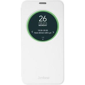 Чехол Asus View Flip Cover для Asus ZenFone 2 Laser ZE550KL белый
