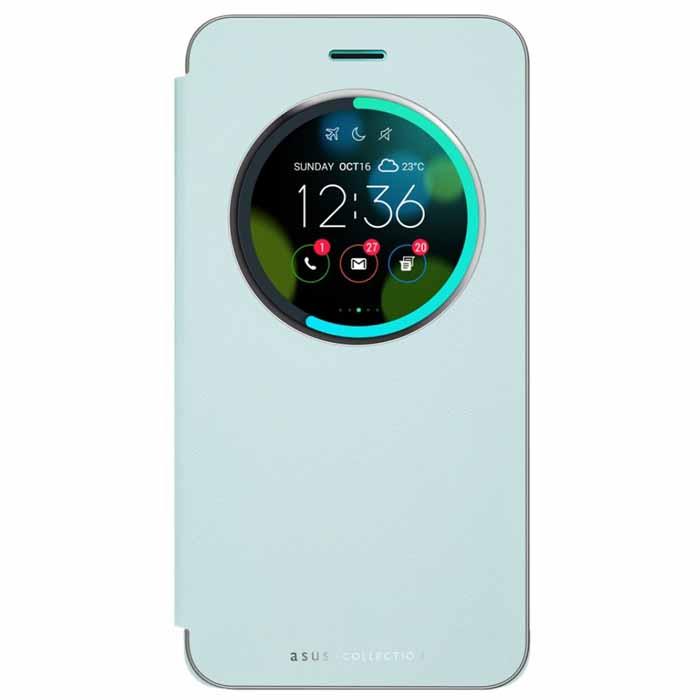 Чехол ASUS View Flip Cover для Asus ZenFone 3 ZE552KL голубой