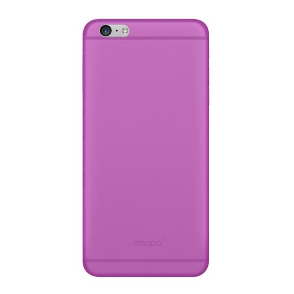 Чехол Deppa Sky Case 0.4 с пленкой для iPhone 6 / iPhone 6s, фиолетовый