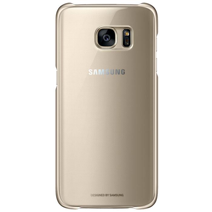 Чехол Samsung Clear Cover для Samsung G935F Galaxy S7 edge, золотистый