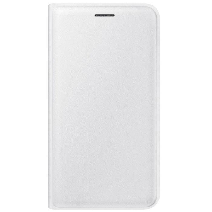 Чехол Samsung Flip Wallet для Galaxy J1 (2016) SM-J120F/DS, белый