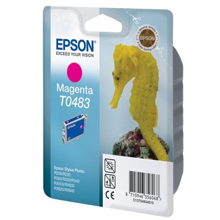 Картридж EPSON C13T04834010 Magenta для R200/R220/R300/R320/R340/RX500/RX600/RX620