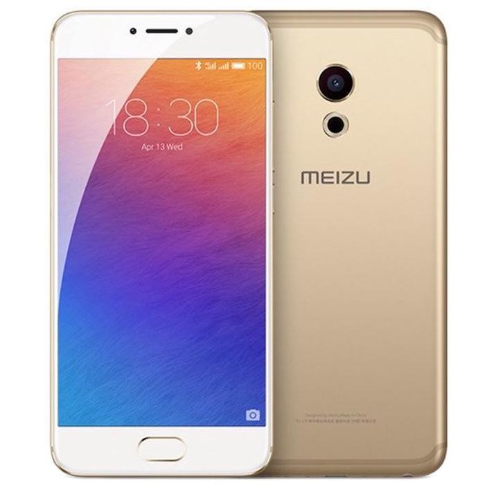Смартфон Meizu Pro 6 64Gb Gold/White