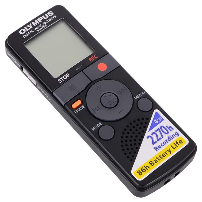 Диктофон 4Gb Olympus VN-765 черный