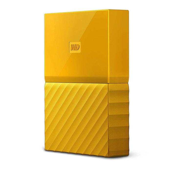 Внешний жесткий диск USB3.0 2.5″ 2Тб WD My Passport ( WDBUAX0020BYL-EEUE ) Желтый