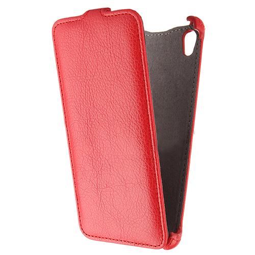 Чехол Gecko Flip для Sony E6553/E6533 Xperia Z3+/Xperia Z3+ Dual, красный