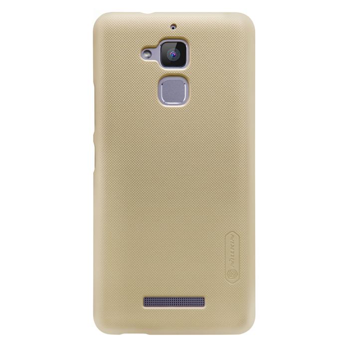Чехол Nillkin Super Frosted Shield Case для Asus ZenFone 3 Max ZC520TL золотистый